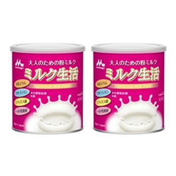 【森永乳業】<br>ミルク生活<br>2缶セット 300g×2
