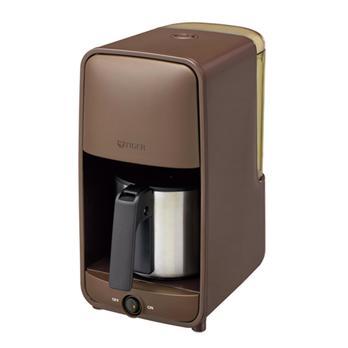 【タイガー】<br>コーヒーメーカー0.81L<br>ダークブラウン