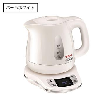 【T-fal】<br>アプレシアAG+<br>コントロール0.8L<br>パールホワイト