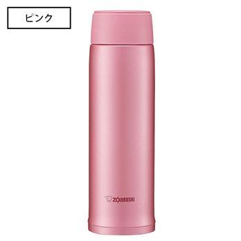 【象印】<br>ワンタッチタイプ<br>ステンレスマグボトル<br>480ml ピンク